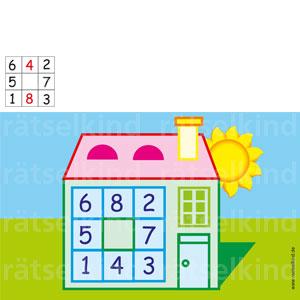 Grundschulrätsel mit Zahlen