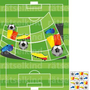Kinder Sudoku Fußball