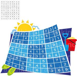 Kannst du das Sudokumit den Ziffern 1 bis 9 so ausfüllen,dass jede Zahl in jeder Spalte, in jeder Zeileund in jedem kleinen Quadrat nur 1 Mal vorkommt?