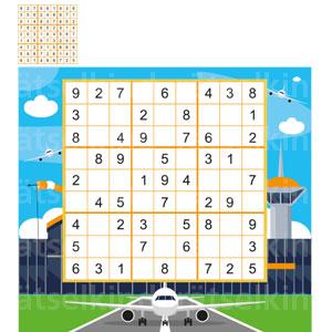 Kannst du das Sudoku mit den Ziffern 1 bis 9 so ausfüllen, dass jede Zahl in jeder Spalte, in jeder Zeile und in jedem kleinen Quadrat nur 1 Mal vorkommt? Auflösung : Lösungsbild
