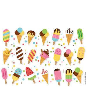 Ein Eis kommt doppelt vor. Kannst du es finden?