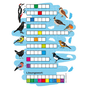 Vogelnamen Kreuzworträtsel