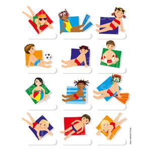 Kinderrätsel Sommerferien