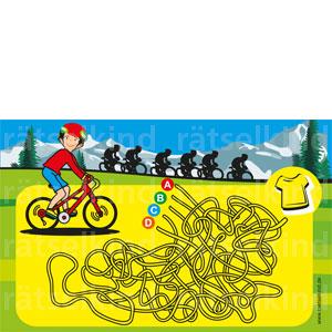 Irrgarten Labyrinth Tour de France