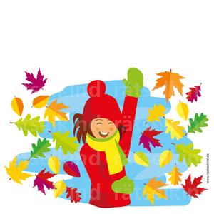 Herbst Kinderrätsel Blätter