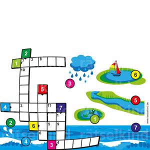 Wasserwelten Buchstabenrätsel
