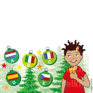 Weihnachtsrätsel Sprachen