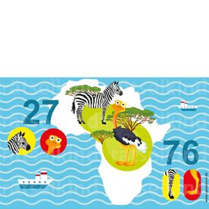 Anzahl der Tiere in Afrika