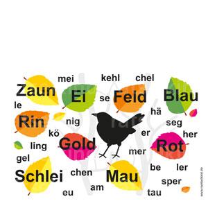Vogelnamen in Silben