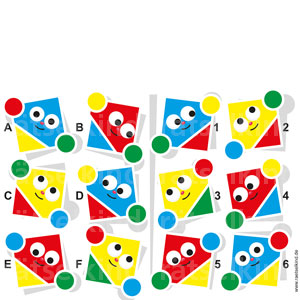 Logikrätsel Kinderrätsel Geometrie