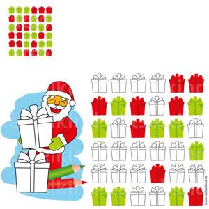 Weihnachtsrätsel Kinderrätsel Gitterrätsel