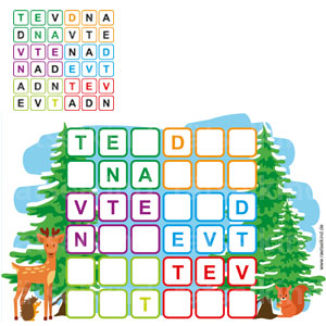 Weihnachtsrätsel Sudoku Kinderrätsel zu Weihnachten