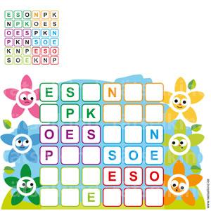Sudoku Blumen Blumenrätsel für Kinder
