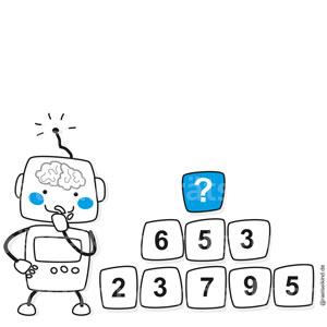 Zahlenturm Additionsturm Logikrätsel