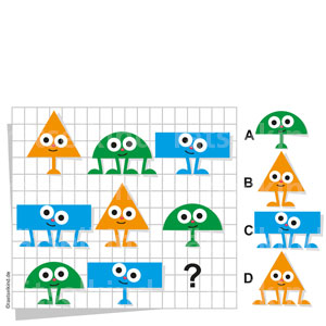 Logikrätsel Geometrie