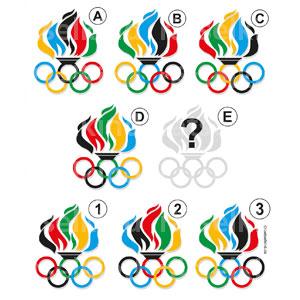Olympisches Feuer Olympische Ringe Kinder Kinderrätsel Rätsel für Kinder