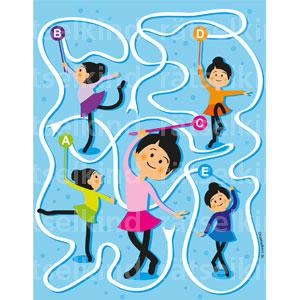 Kinderrätsel Bodenturnen Turnen Schulunterricht Schulsport