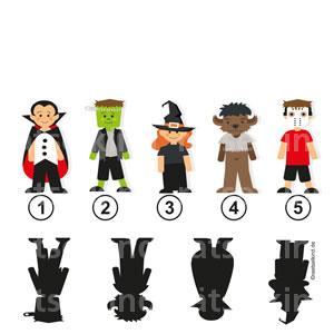 Kinderrätsel Halloween Grusel Kostüme