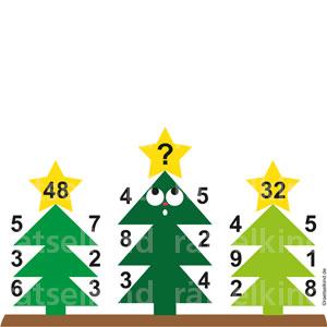 Logikrätsel zu Weihnachten