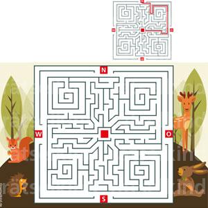 Irrgarten Labyrinth