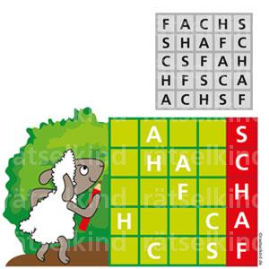 Grundschulrätsel Sudoku