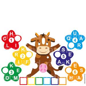 Landwirtschaft Molkerei Wörterkreisel